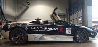 Seven Friday. Lambo lamb  supercar Stock Photography