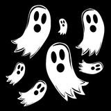 Seven ghosts Royalty Free Stock Photo