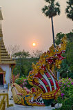 Seven Heads Naga Stock Image