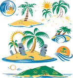 Seven Islands Royalty Free Stock Image