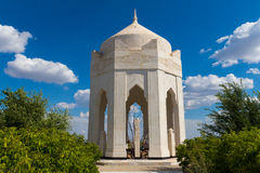 Seven khans grave and the Tree od Destiny Royalty Free Stock Photos