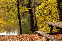 Seven Lakes. National park at Turkey Royalty Free Stock Images