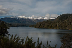 Seven lakes road in Villa la Angostura, Argentina Stock Photo