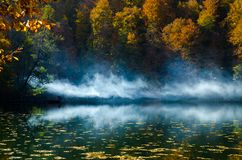 Seven Lakes - Yedigoller from Bolu Turkey. Autumn Yedigoller National Park in Bolu, Turkey royalty free stock images