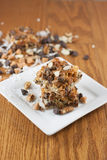 Seven Layer Bars Royalty Free Stock Photography
