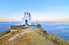 Seven Martyrs church Sifnos Greece stock photography