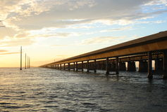 Seven mile bridge Royalty Free Stock Images