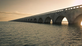 Seven Mile Bridge Royalty Free Stock Photography