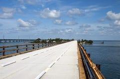 Seven-mile bridge royalty free stock images