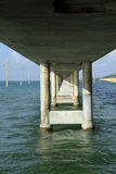 Seven Mile Bridge in the Keys Stock Images