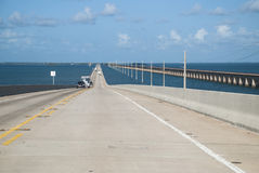 Seven mile bridge, the Keys Royalty Free Stock Images
