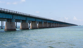 Seven Mile Bridge Profile Stock Photo
