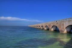 Free Seven Miles Bridge Royalty Free Stock Image - 14489236