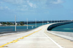Seven miles Key West Bridge Stock Images