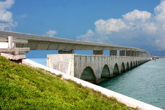 Seven miles Key West Bridge Royalty Free Stock Photography
