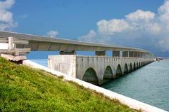 Seven miles Key West Bridge royalty free stock photography