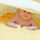 Seven month infant Stock Photo