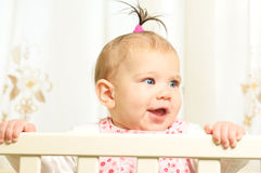 Seven months old happiness girl Stock Photography