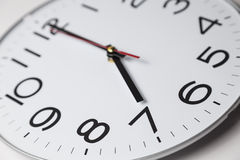 Seven o'clock Royalty Free Stock Photography