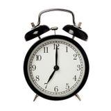 Seven o clock Royalty Free Stock Image