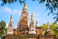 The seven pagodas Royalty Free Stock Images