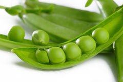 Seven pea Royalty Free Stock Photography