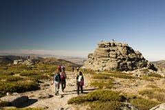 Seven peaks Stock Photo