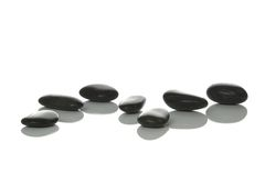 Seven Pebbles Stock Image