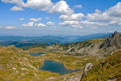 Seven Rila Lakes Royalty Free Stock Photography