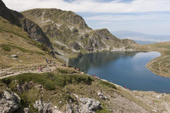 Seven Rila Lakes, Bulgaria Royalty Free Stock Images