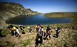 Seven Rila Lakes Stock Photography