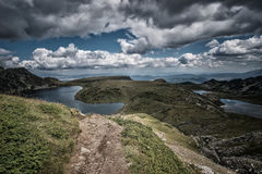 The Seven Rila Lakes. Landscape from Bulgaria Royalty Free Stock Photography