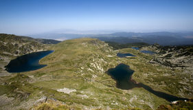 Seven Rila Lakes Royalty Free Stock Images