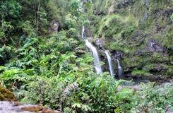 Seven Sacred Pools of Ohio, Maui, Hawaii stock photos