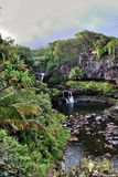 Seven Sacred Pools of Ohio, Maui, Hawaii Royalty Free Stock Photos