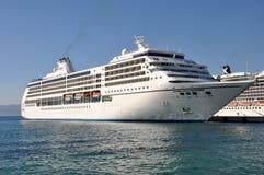 Seven Seas Mariner. Cruise ship, Regent Cruise Line Royalty Free Stock Photography