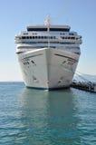 Seven Seas Mariner. Cruise ship bow, Regent Cruise Line Stock Images