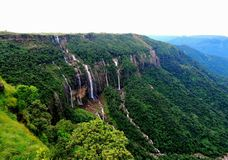 Seven Sister& x27;s Waterfalls royalty free stock photos