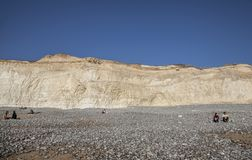 Seven Sisters and Beachy Head cliffs, England - sunny day. royalty free stock images