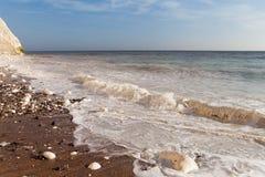 Seven Sisters chalk cliffs, England. Stock Photo
