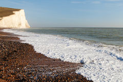 Seven Sisters chalk cliffs, England. Stock Photography
