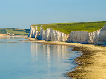 Free Seven Sisters Chalk Cliffs, Seven Sisters National Park Stock Photos - 72312593