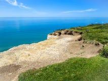 Seven Sisters chalk cliffs, Seven Sisters National Park Stock Photo