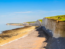 Seven Sisters chalk cliffs, Seven Sisters National Park Stock Photo