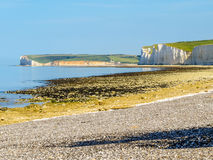 Seven Sisters chalk cliffs, Seven Sisters National Park Royalty Free Stock Photography