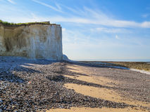 Seven Sisters chalk cliffs, Seven Sisters National Park Stock Photos