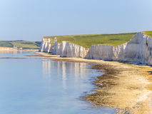 Seven Sisters chalk cliffs, Seven Sisters National Park Stock Image
