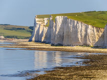 Seven Sisters chalk cliffs, Seven Sisters National Park Stock Images