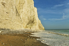Seven sisters cliff, English Channel. Royalty Free Stock Image