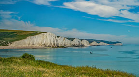 Seven Sisters Cliff View Royalty Free Stock Photos